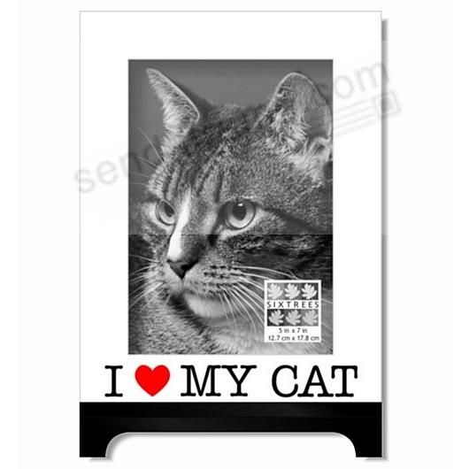 I {HEART} MY CAT tabletop design for your fav kitty photo by Sixtrees®