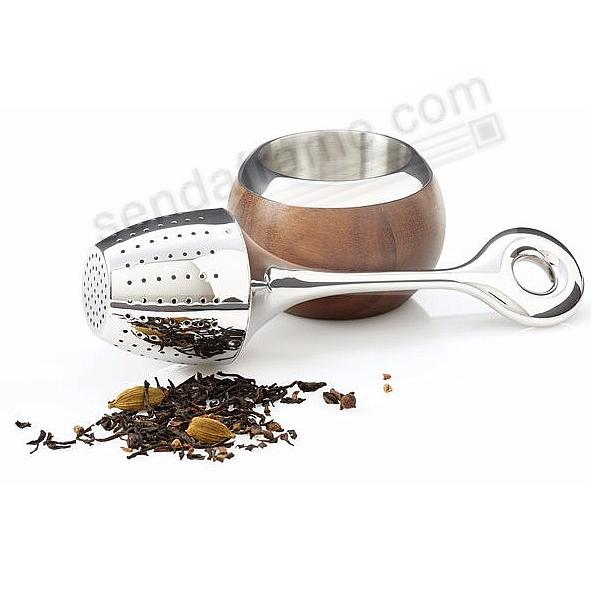 The Original BULBO STANDING TEA STEEPER crafted by Nambe®