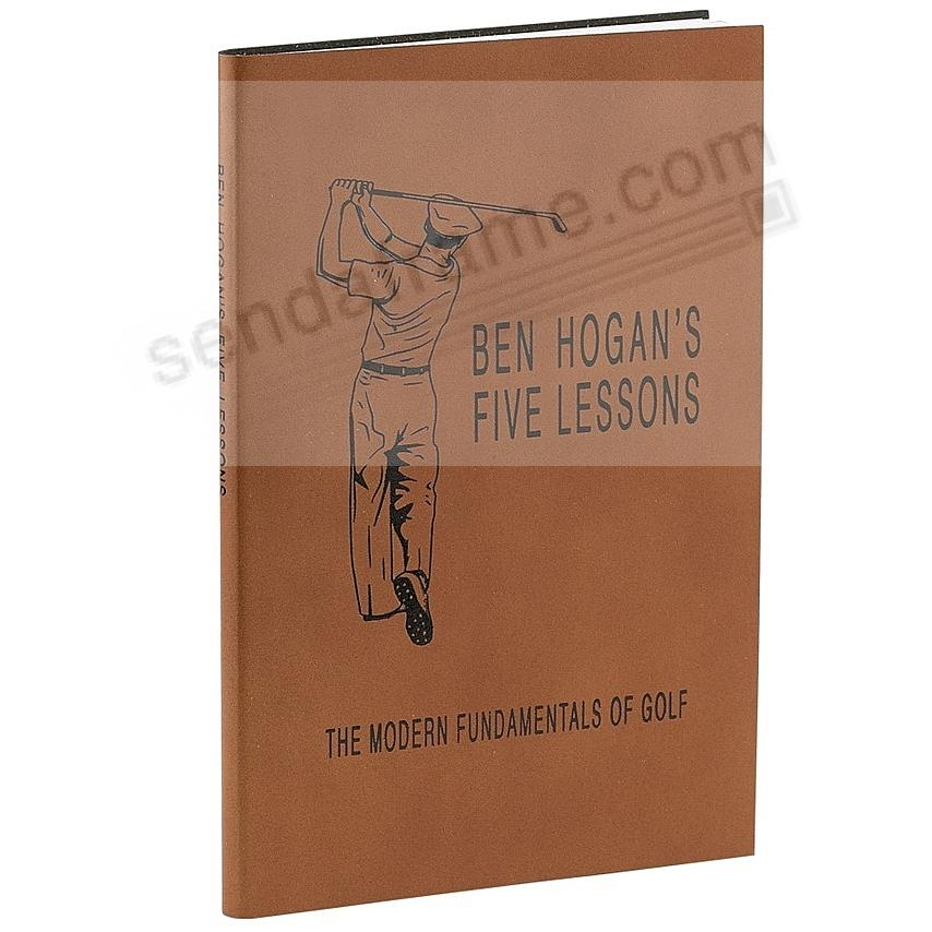 Ben Hogan's The Modern Fundamentals of Golf special edition in rich Full-Grain Leather by Graphic Image™