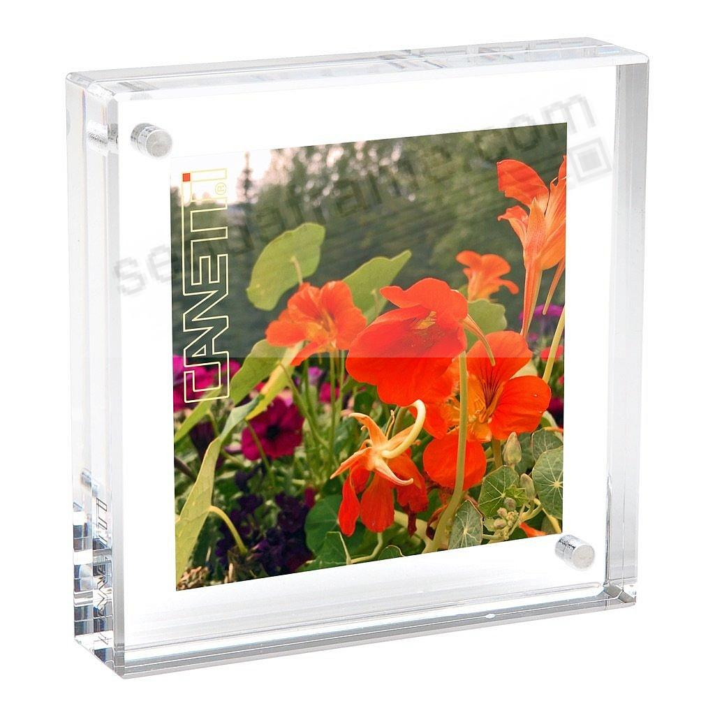 The original acrylic museum MAGNET FRAME<br>by Canetti&reg; - now in 2x2 size