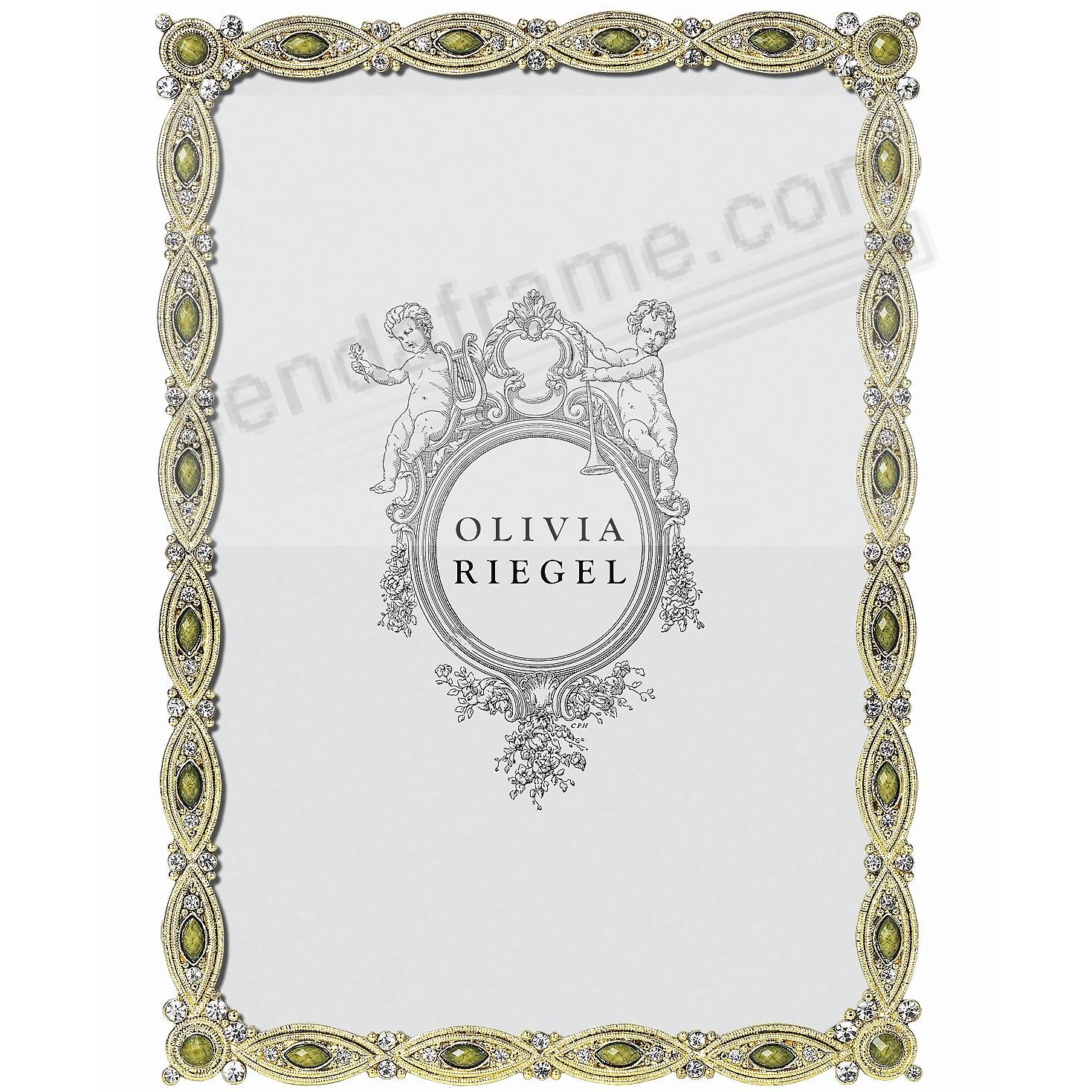 MAUREEN Crystal + Green frame by Olivia Riegel®