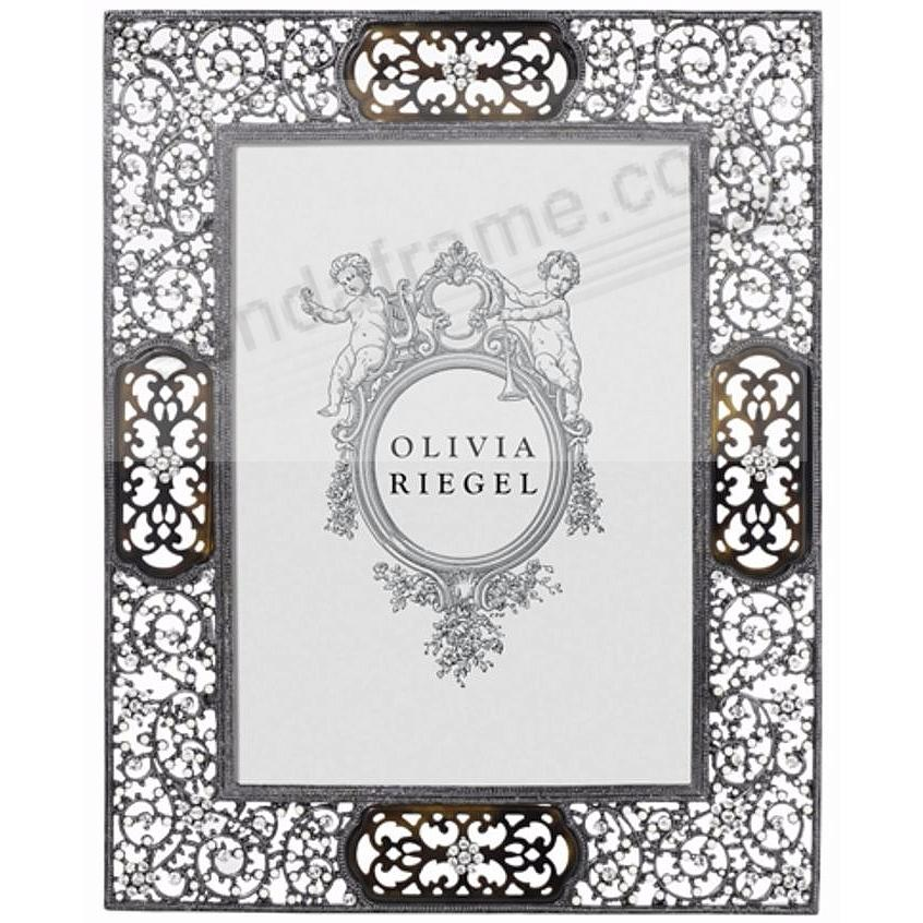 QUEEN ANNE'S LACE Austrian Crystal + Tortoise 5x7 frame by Olivia Riegel®