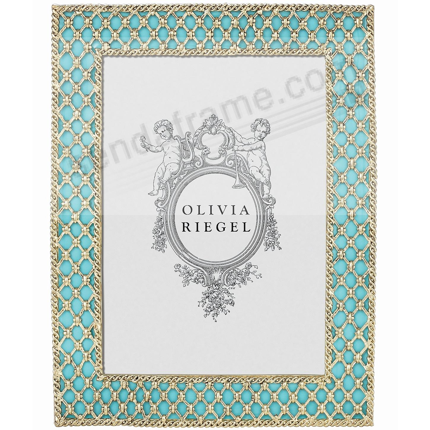TURQUOISE SUSIE 5x7 frame by Olivia Riegel®