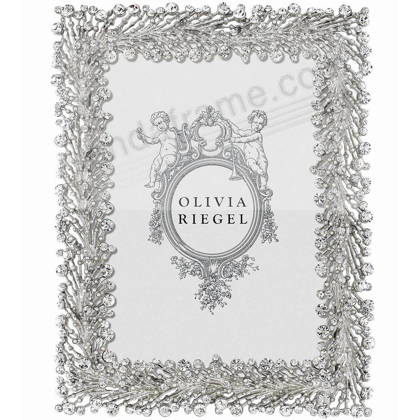 TWINKLES Austrian Crystal + Pearl 5x7 frame by Olivia Riegel®