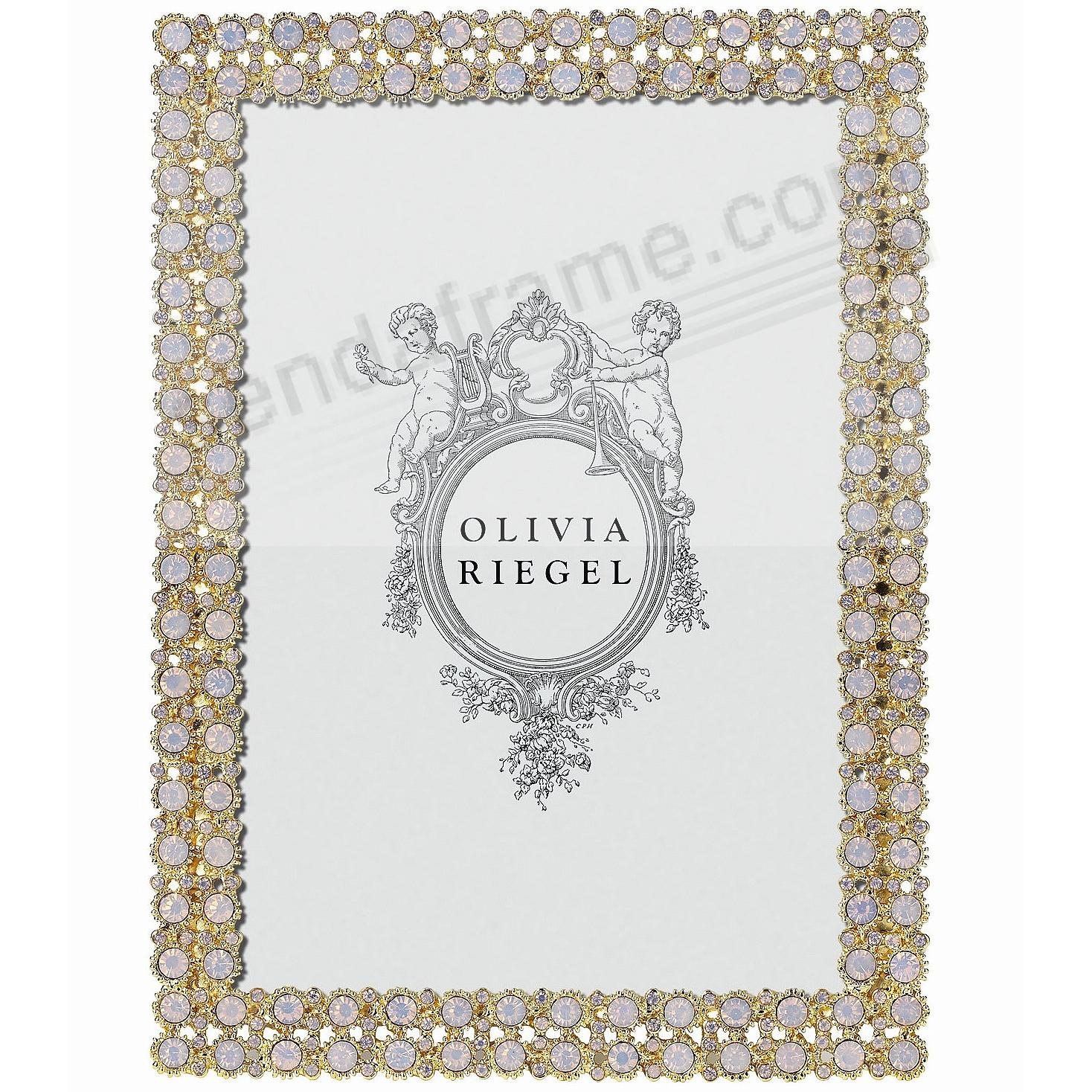 PRISCILLA PINK OPAL Crystal 5x7 frame by Olivia Riegel®