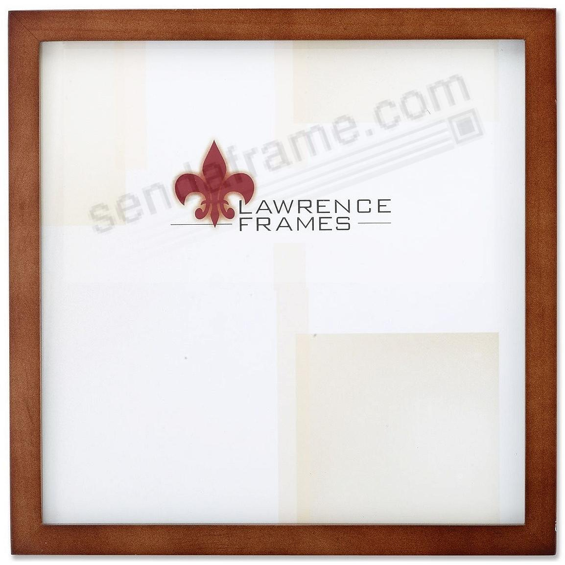 Nutmeg Square-Corner 10x10 frame by Lawrence®
