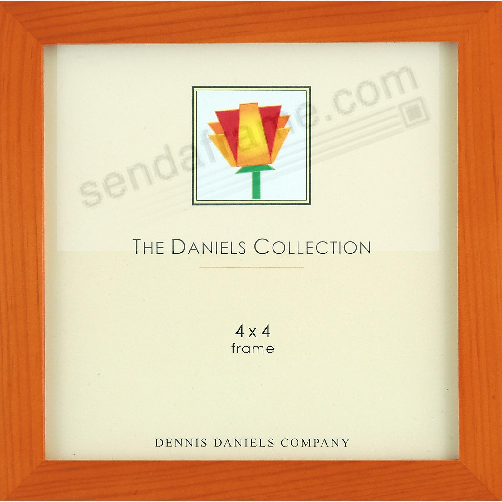 The Original W41: Square Corner GALLERY WOODS Cherry wood stain 4x4 by Dennis Daniels®