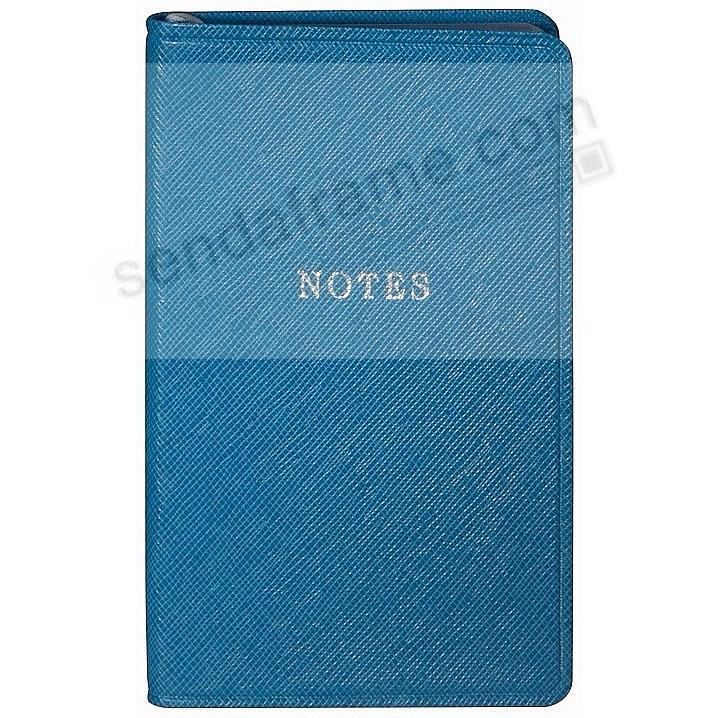 Aqua-Blue Eco-leather Notebook by Graphic Image™