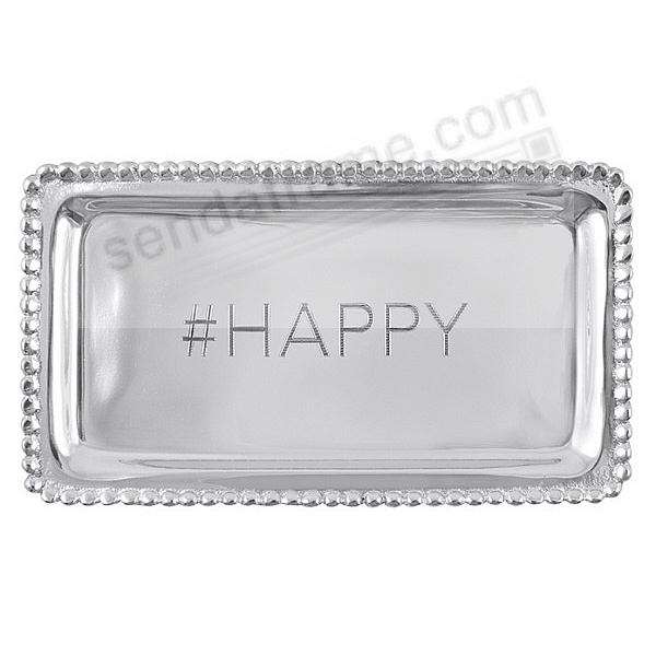 #HAPPY STATEMENT TRAY crafted by Mariposa®