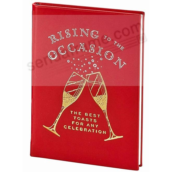 RISING TO THE OCCASION Special Edition Red Leather by Graphic Image™