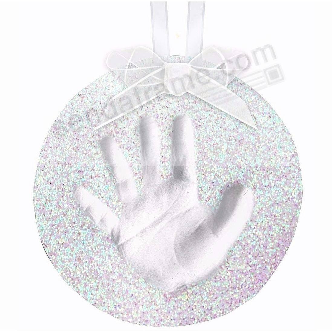 Babyprints® GLITTER HAND/FOOT PRINT Wall Hanging for a One-of-a-Kind gift