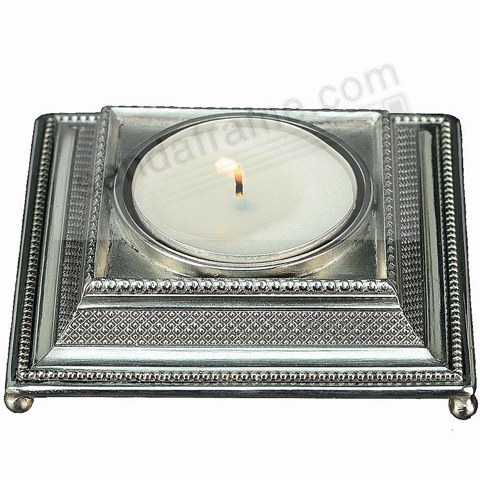 Prestige Tea Light Fine Pewter Candle Holder by Elias Artmetal®