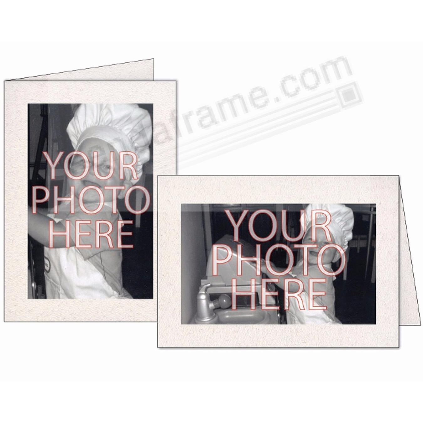 Premium NATURAL Photo Insert Card (sold in 10s)