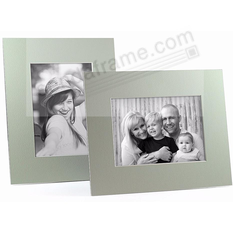 MINT/White Core BEVEL-CUT Easel 8x10 Frame Paper Stock (sold in 6s)