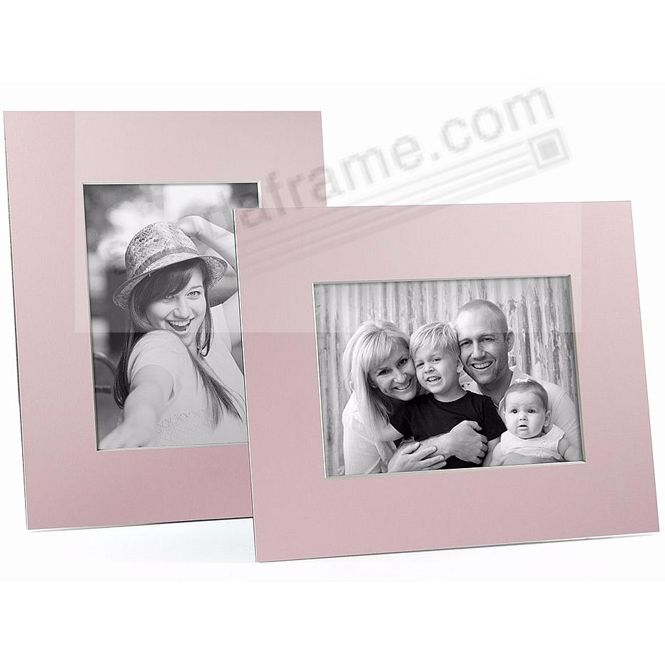 PINK/White Core BEVEL-CUT Easel 5x7 Frame Paper Stock (sold in 5s)