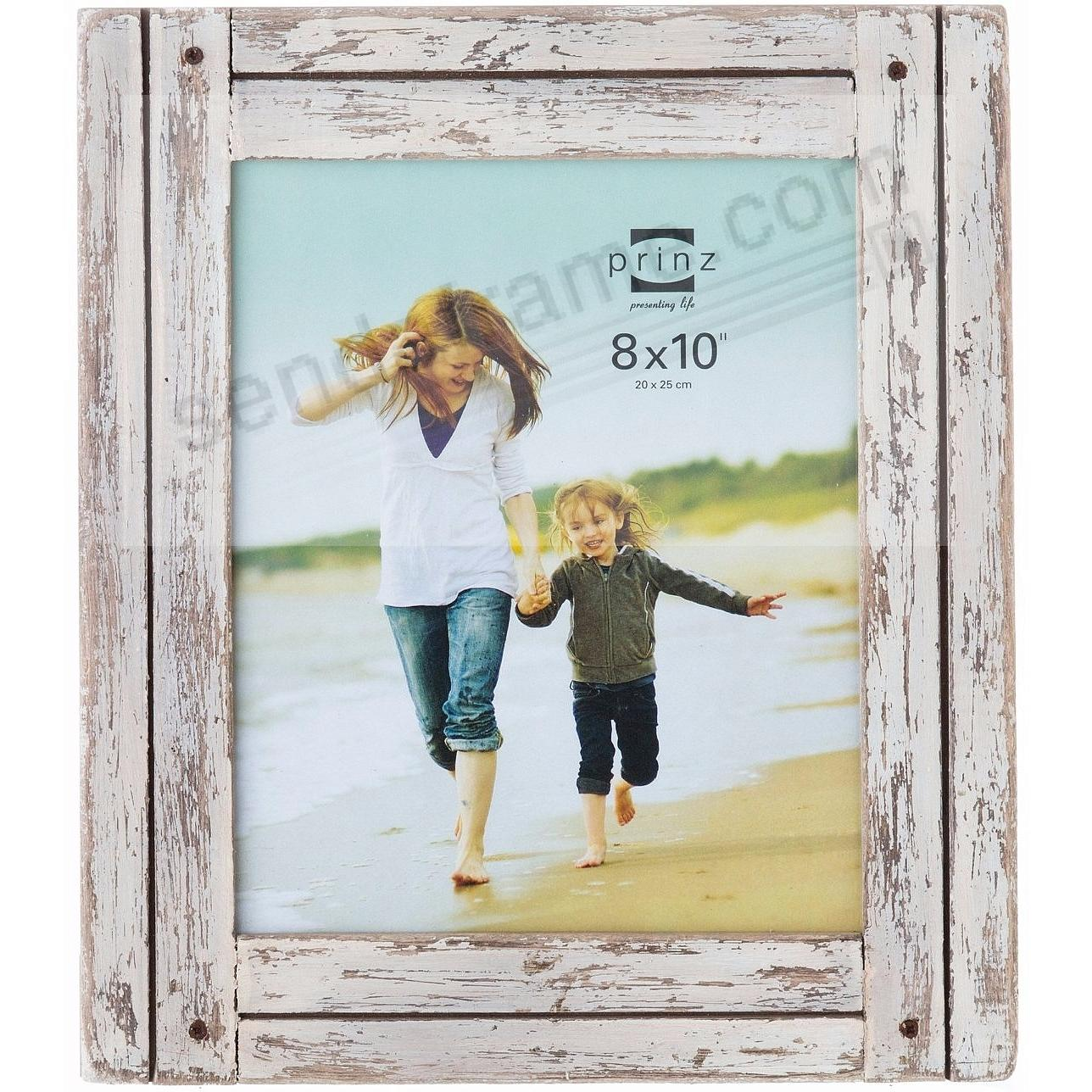 HOMESTEAD Distressed White Wood Frame by Prinz®