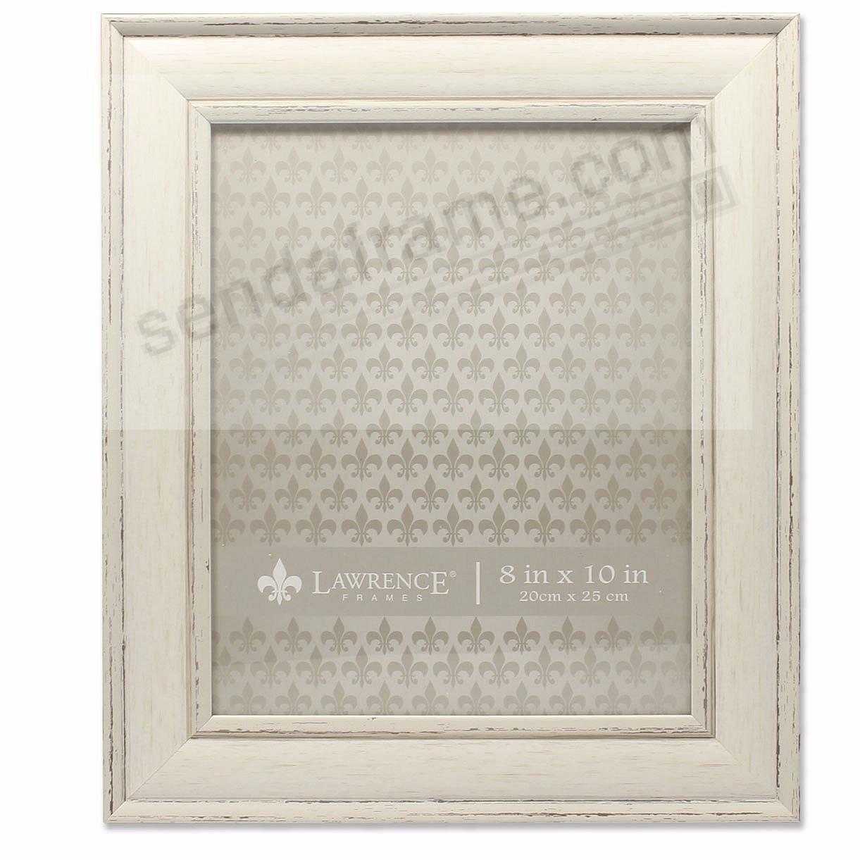 Domed Top IVORY WEATHERED 8x10 frame by Lawrence®