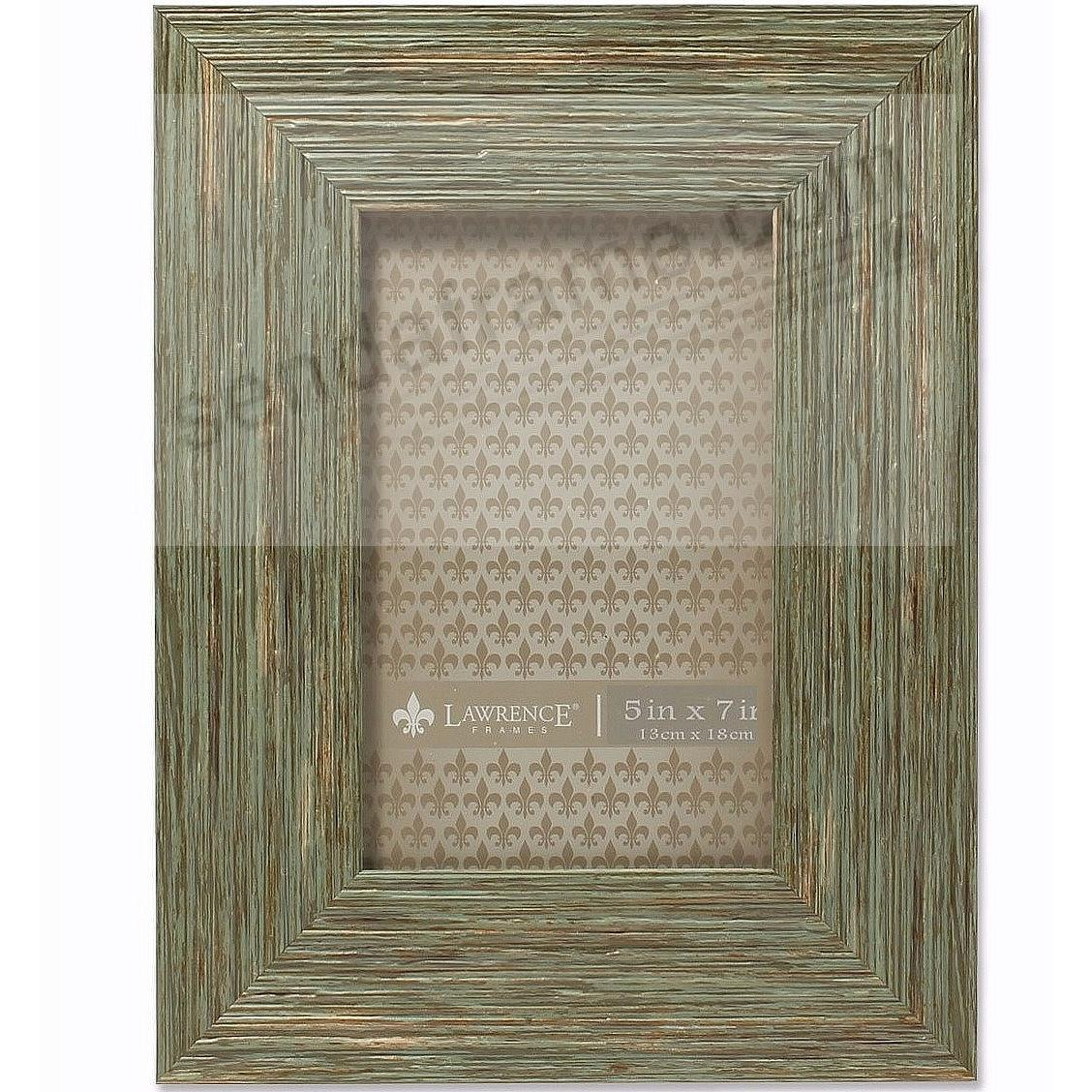 Weathered Green Wood Frame by Lawrence®