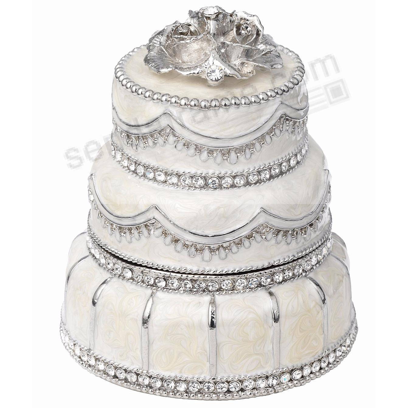 WEDDING CAKE PAVÉ BOX by Olivia Riegel®
