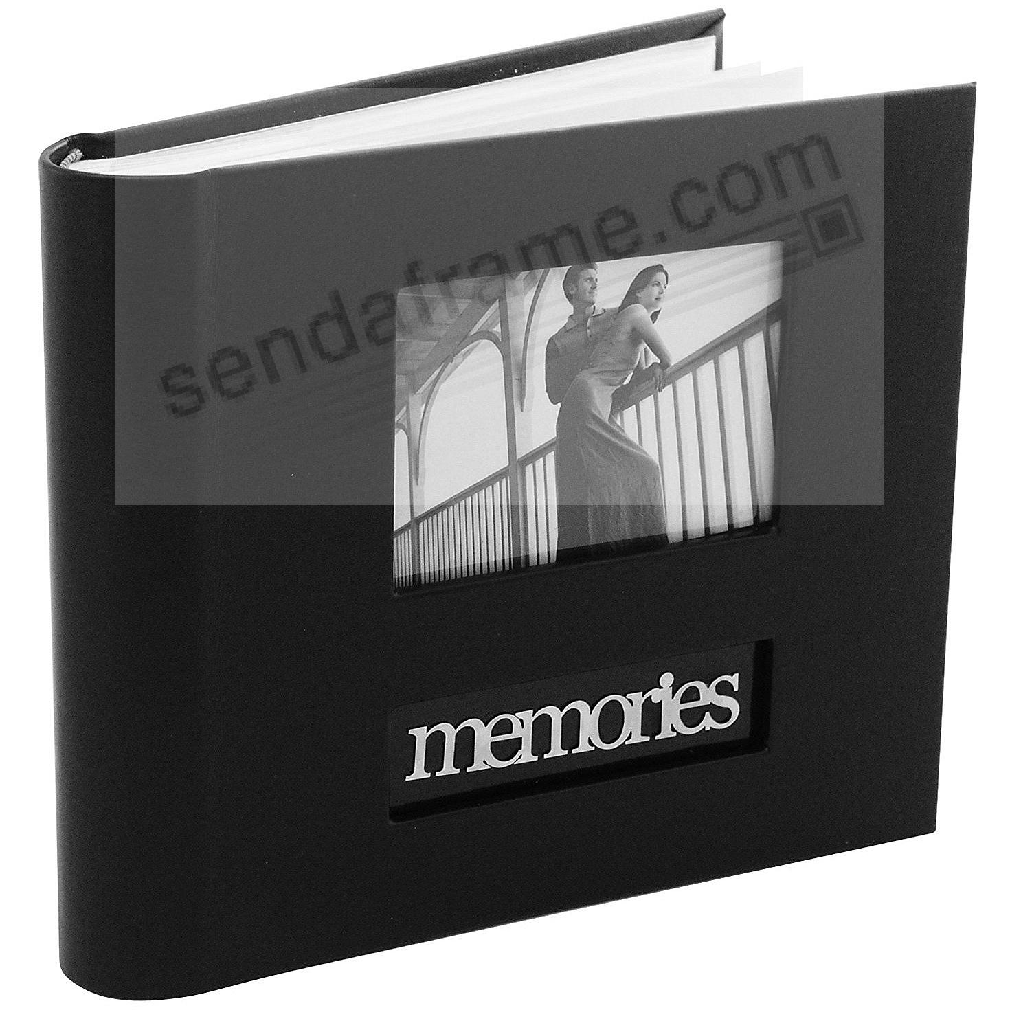 MEMORIES 2-up Album by Malden® holds 160 photos