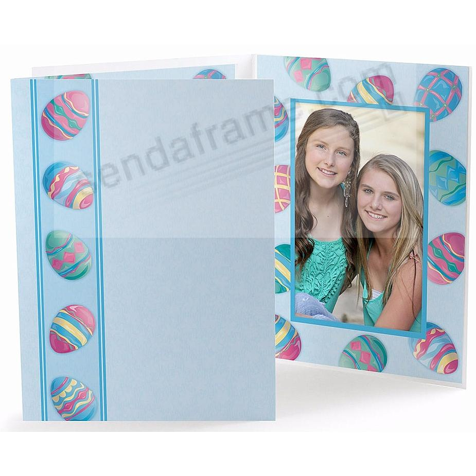 Our Colorful Easter Egg<br>5x7 Photo Folder