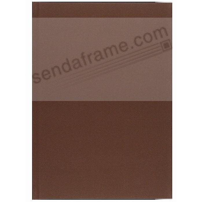 BROWN PROFOLIO PREMIUM FLEX 10x12¾ (large / 3-Up) Album for Prints and Collectibles by Itoya®