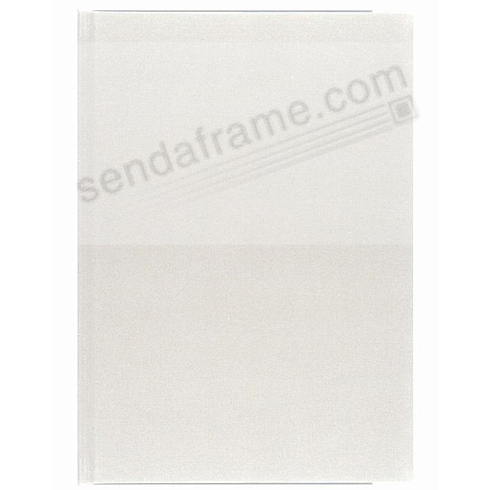 WHITE PROFOLIO PREMIUM FLEX 10x12¾ (large / 3-Up) Album for Prints and Collectibles by Itoya®