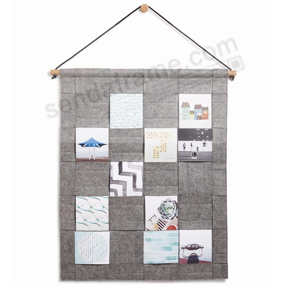 The Original WEAVE PHOTO DISPLAY Grey by Umbra®