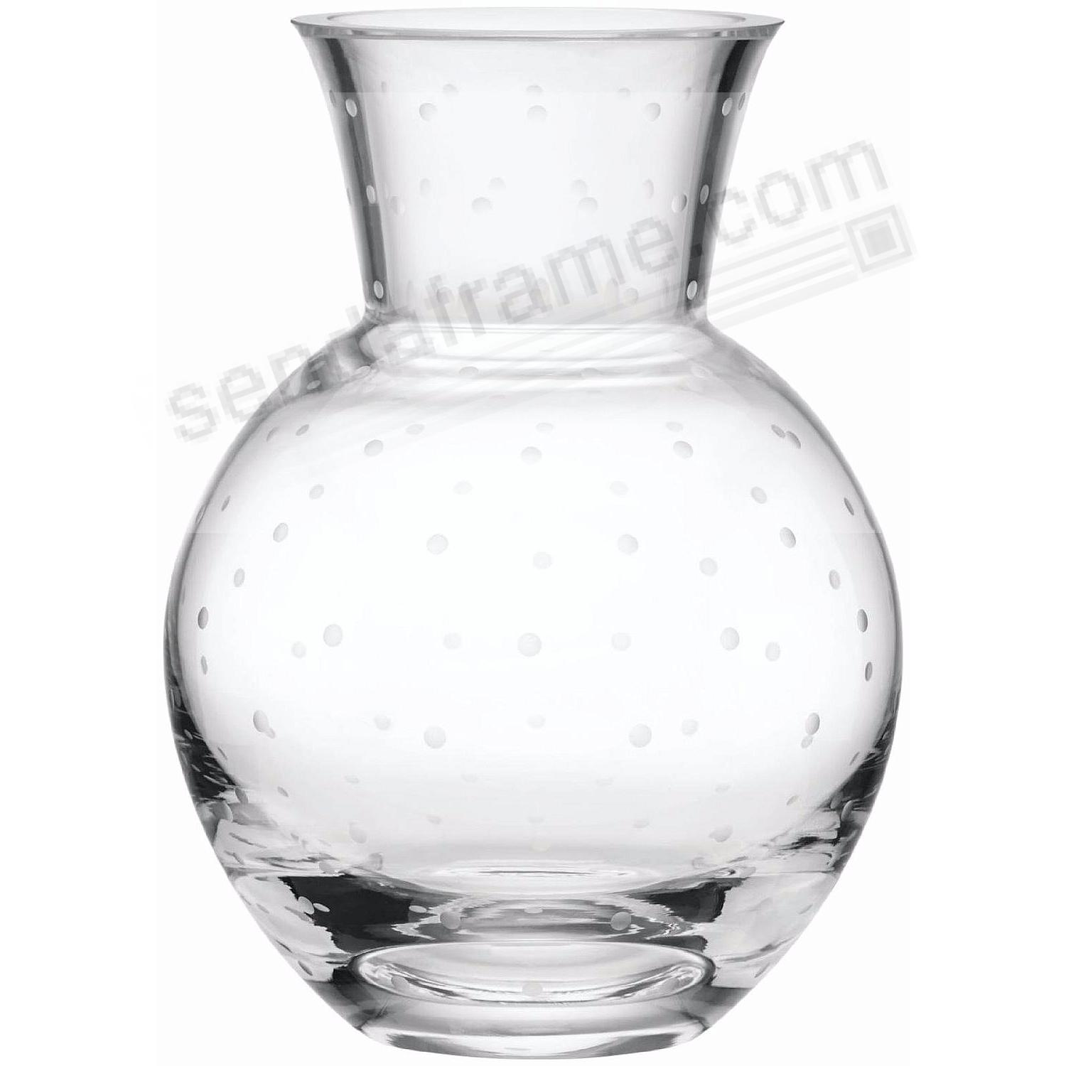 LARABEE DOT 10inH LARGE VASE by kate spade new york®