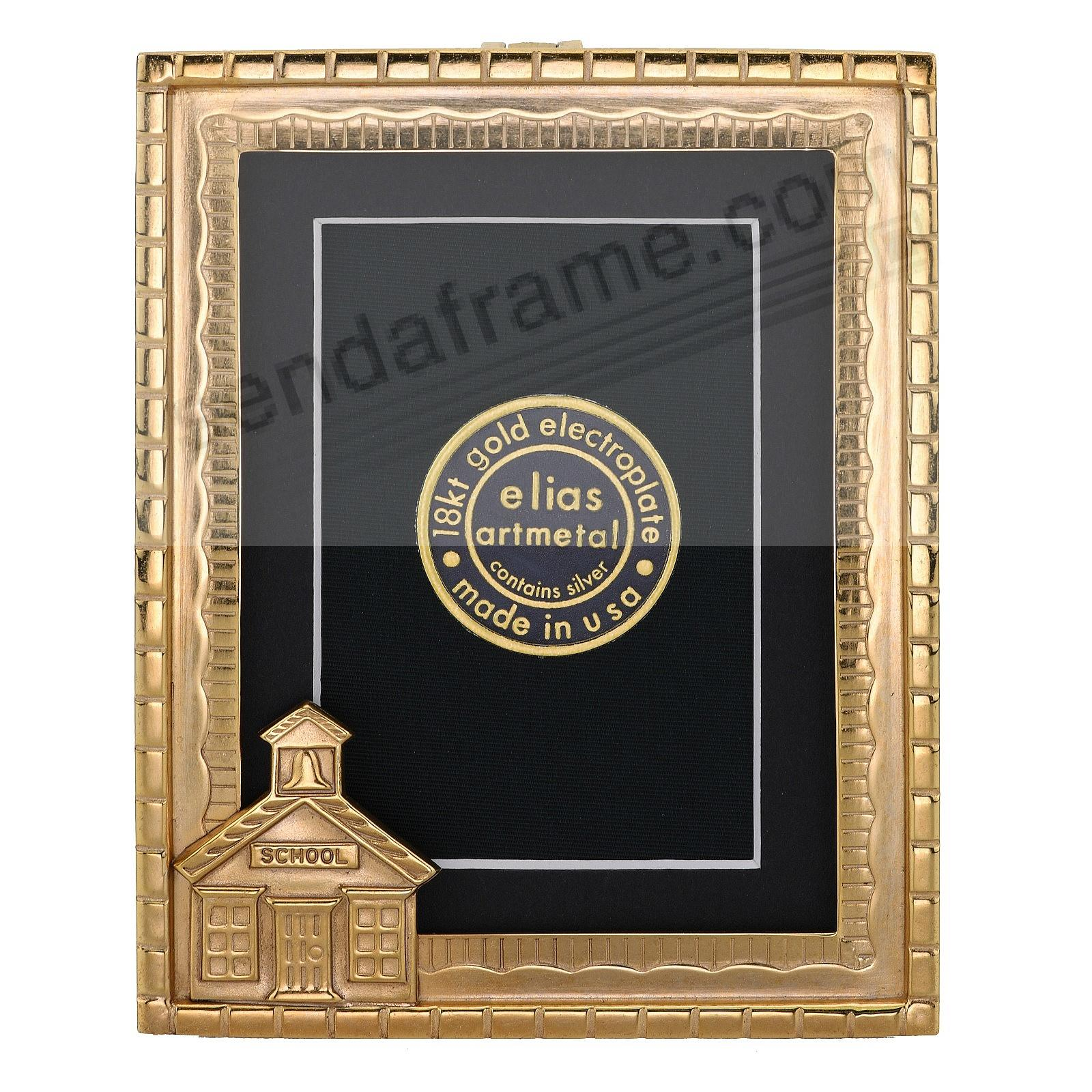 SCHOOLHOUSE luxe Museum Gold Vermeil over fine pewter by Elias Artmetal®