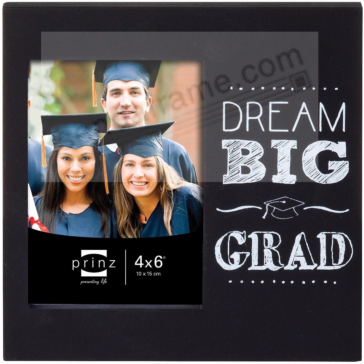 DREAM BIG GRAD Black CAP frame by Prinz®