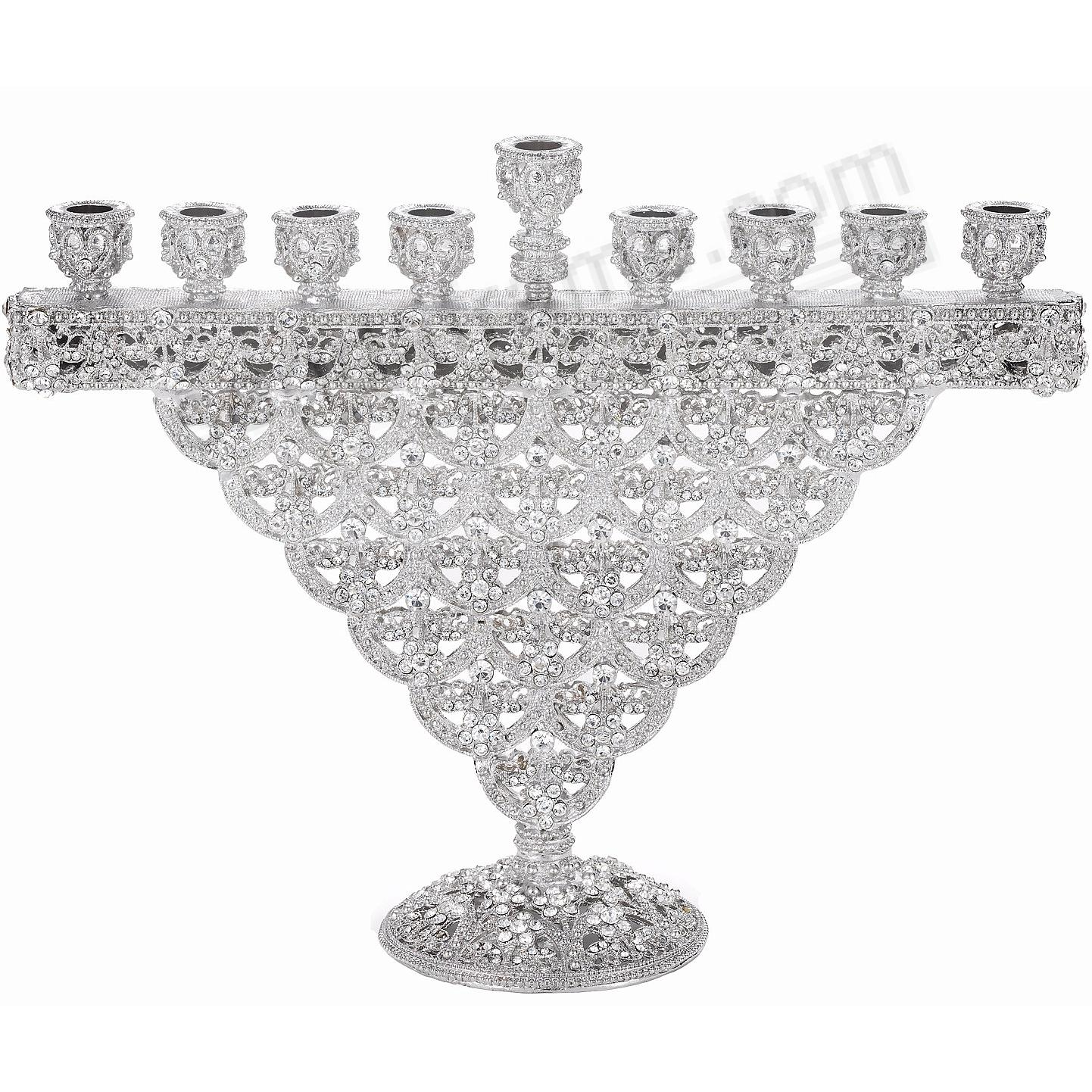 SINCLAIR CRYSTAL MENORAH by Olivia Riegel®