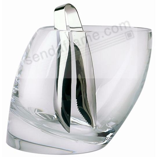 The Original TILT ICE BUCKET w/TONGS by Nambe®