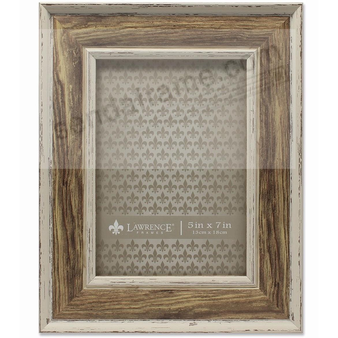 Domed Top WEATHERED WALNUT 5x7 frame by Lawrence®
