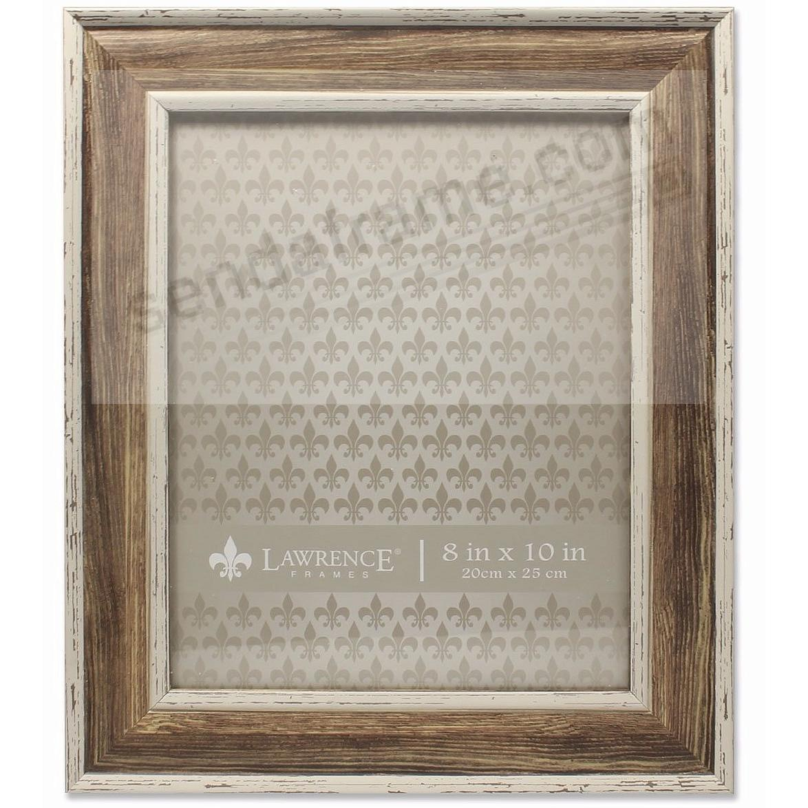 Domed Top WEATHERED WALNUT 8x10 frame by Lawrence®