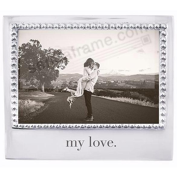 The original MY LOVE. Statement frame crafted by Mariposa®