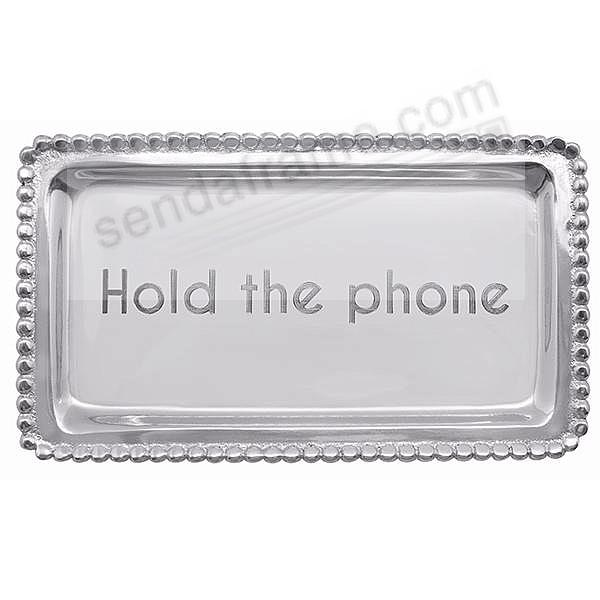 HOLD THE PHONE STATEMENT TRAY crafted by Mariposa®