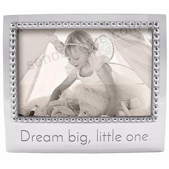 DREAM BIG LITTLE ONE Statement frame crafted by Mariposa®