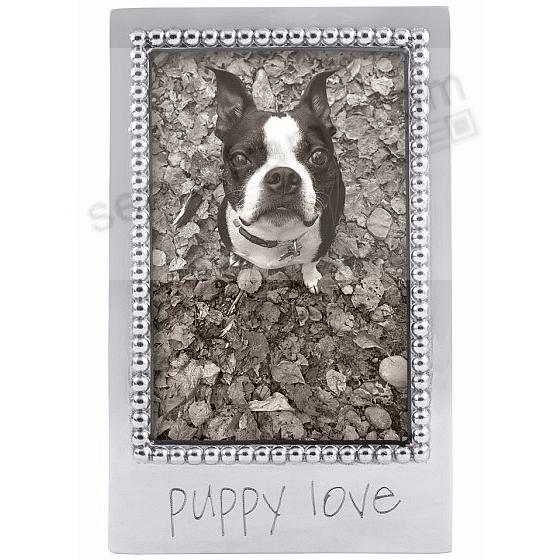 PUPPY LOVE Statement frame crafted by Mariposa®