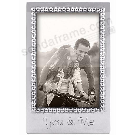 YOU + ME Statement frame crafted by Mariposa®