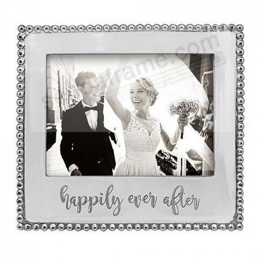 HAPPILY EVER AFTER Statement frame crafted by Mariposa®
