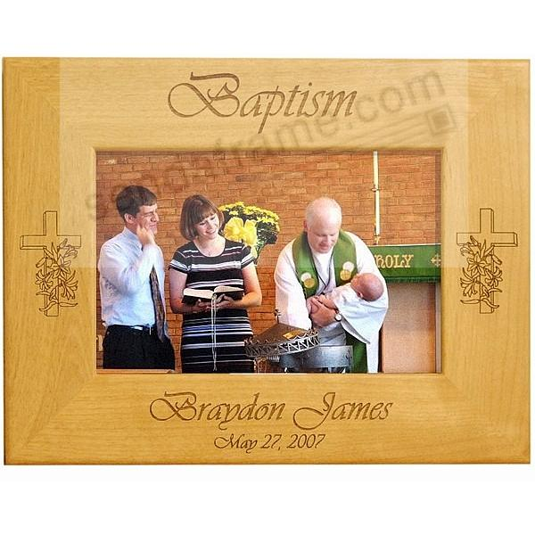 A Special BAPTISMAL keepsake frame - Personalized