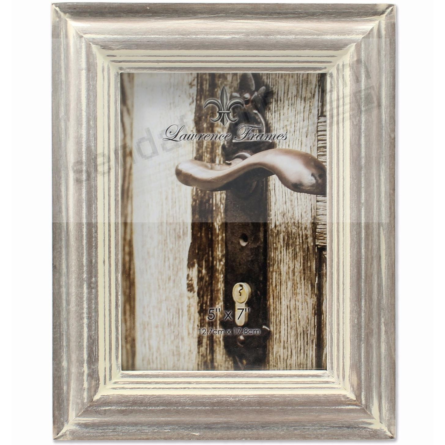 SUNWASHED GRAY 5x7 frame by Lawrence®