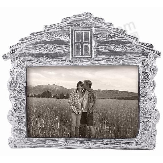 The Mariposa® LOG CABIN Frame for your 4x6 print