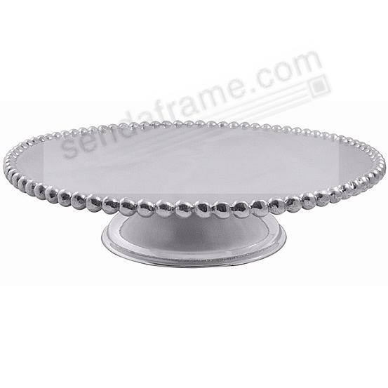 CLASSIC PEARLED CAKE STAND by Mariposa®