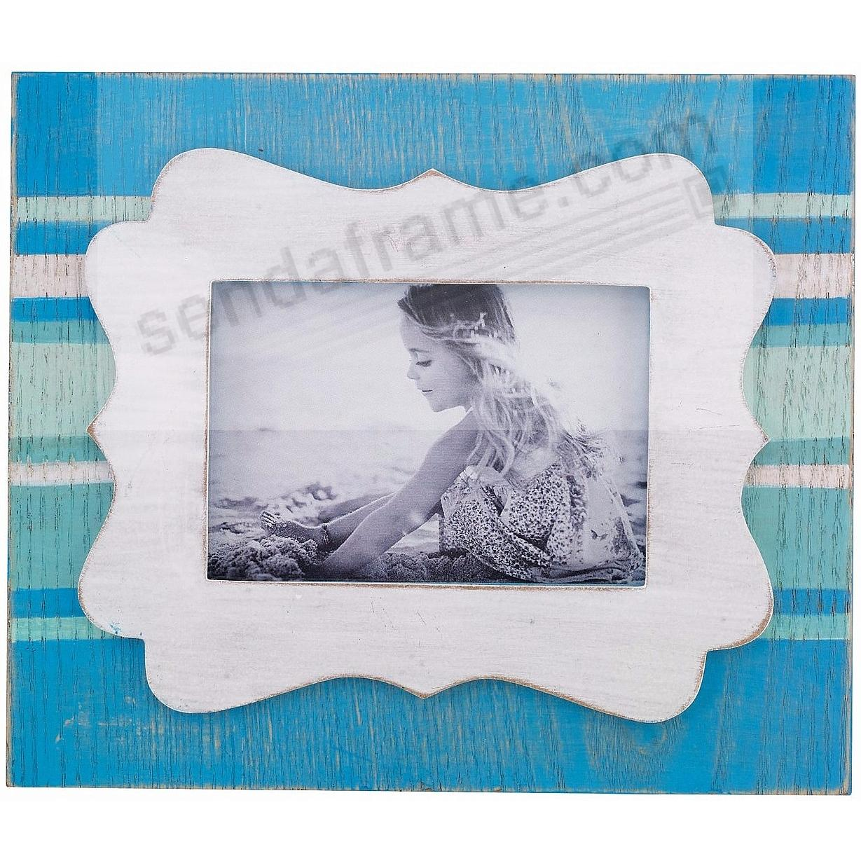 Weathered BLUE WAVE 3½x5 Frame by Lawrence®