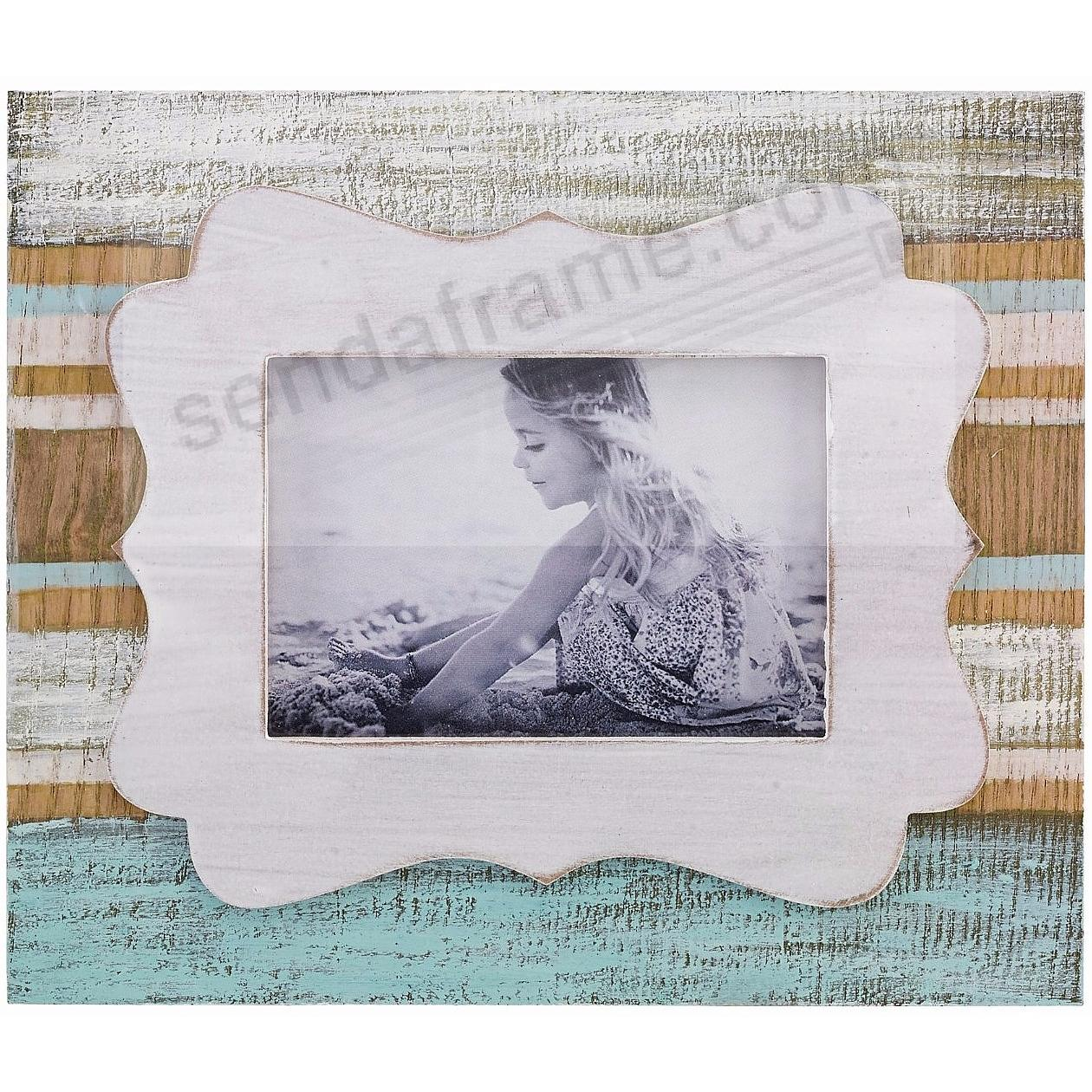 Weathered SANDY BEACH 3½x5 Frame by Lawrence®