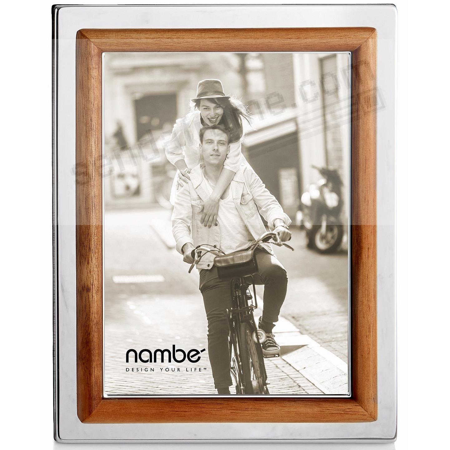 The HAYDEN 5x7 frame by Nambe