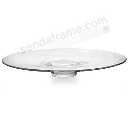 The MODERNE GLASS 15-inch PLATTER by Nambe®