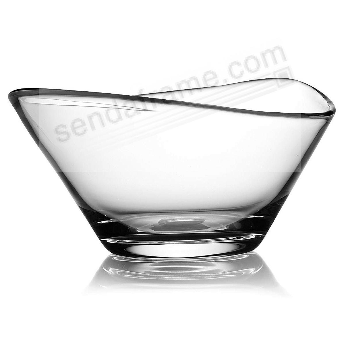 The MODERNE GLASS 9-inch BOWL by Nambe®